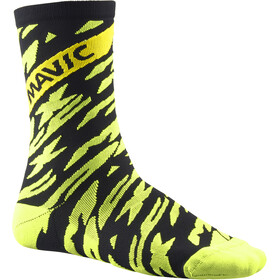 Mavic Deemax Pro High-Cut Socken safety yellow/black